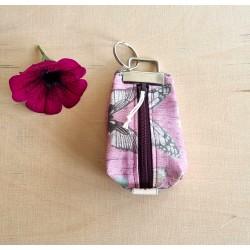 Schlüsselanhänger rosa/mint