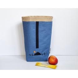 Lunchbag blau